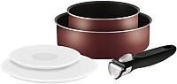 Набор кухонной посуды Tefal Ingenio Red 04162840 -