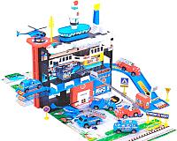 Детский паркинг Play Smart Полицейский участок 3044 -