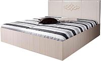 Двуспальная кровать Территория сна Аврора 3 200x180 (с подъемным механизмом) -