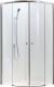 Душевое ограждение Adema Glass-100 AG5122-100 (тонированное стекло) -