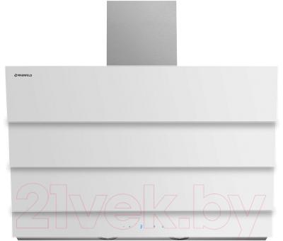 Вытяжка декоративная Maunfeld Cascada E 90 (белый)