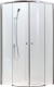 Душевое ограждение Adema Glass-90 AG5122-90 (прозрачное стекло) -