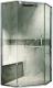 Душевое ограждение Adema Safier-90 / AD7633 (тонированное стекло) -