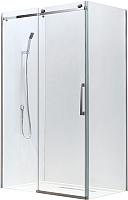 Душевое ограждение Adema Slide-100 / AD7713-100 (прозрачное стекло) -