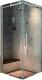 Душевое ограждение Adema Supreme Vierkant / AG7716-90 (тонированное стекло) -