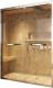Душевая дверь Adema Panarama BS-115 / SW3700 (стекло нить серебренная) -