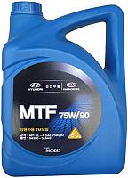 Моторное масло Hyundai/KIA Mobis Gear Oil SAE 75W90 GL-4 / 04300-5L6A0 (6л) -