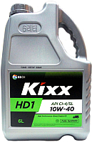 Моторное масло Kixx Fully Synthetic HD1 10W40 /  L2061360E1 (6л) -