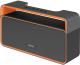 Портативная акустика Mystery MBA-613UB (серый/оранжевый) -