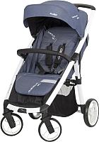 Детская прогулочная коляска EasyGo Quantum Alu 2017 (denim) -