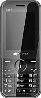 Мобильный телефон Micromax X707 (серый) -