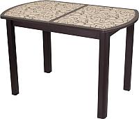 Обеденный стол Домотека Гамма ПО 04 (венге/ст-2) -