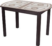 Обеденный стол Домотека Гамма ПО 04 (венге/ст-71) -