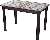 Обеденный стол Домотека Гамма ПР 04 (венге/ст-71) -