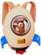 Детский рюкзак Bradex Ракета DE 0236 (бежевый) -