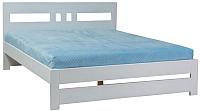 Односпальная кровать Signal Alma 90x200 (белый) -