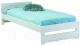 Односпальная кровать Signal Elf 90x200 (белый) -