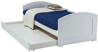 Односпальная кровать Signal Mobi 90x200 (белый) -