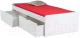 Односпальная кровать Signal Sid 90x200 (белый) -