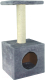 Домик с когтеточкой UrbanCat D72-01-03 (серый) -