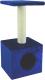 Домик с когтеточкой UrbanCat D72-01-09 (синий) -