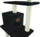 Комплекс для кошек UrbanCat K148-02-01 (черный) -