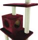 Комплекс для кошек UrbanCat K148-02-07 (бордовый) -