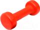 Гантель Gold Cup 1kg (красный) -