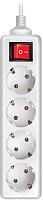 Сетевой фильтр Sven Standard Pro 3G-4 (5м, белый) -