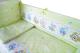 Комплект в кроватку Баю-Бай Улыбка К30-У3 (зеленый) -