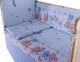 Комплект в кроватку Баю-Бай Забава К30-З4 (голубой) -
