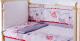 Комплект в кроватку Баю-Бай Дружба К30-Д1 (красный) -