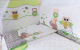 Комплект в кроватку Баю-Бай Раздолье К31-Р3 (зеленый) -