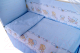 Комплект в кроватку Баю-Бай Мечта К40-М4 (голубой) -