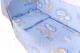 Комплект в кроватку Баю-Бай Нежность К40-Н4 (голубой) -
