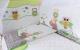 Комплект в кроватку Баю-Бай Раздолье К40-Р3 (зеленый) -