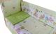 Комплект в кроватку Баю-Бай Забава К60-З3 (зеленый) -