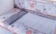 Комплект в кроватку Баю-Бай Дружба К60-Д1 (красный) -