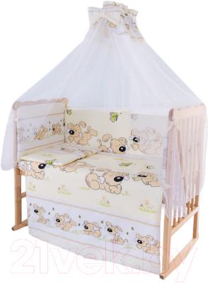 Комплект в кроватку Баю-Бай Верность К70-В2 (бежевый)
