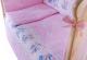 Комплект в кроватку Баю-Бай Улыбка К31-У1 (розовый) -
