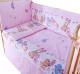 Комплект в кроватку Баю-Бай Забава К31-З1 (розовый) -