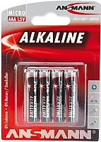 Батарейки ААА Ansmann Alkaline Red 1.5V 5015553 (4шт) -