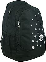 Рюкзак Tersa 312-10 (черный с орнаментом) -