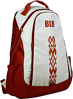 Рюкзак Tersa 318-10 (красный с орнаментом) -