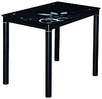 Обеденный стол Signal Damar (80x60, черный) -