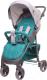 Детская прогулочная коляска 4Baby Rapid 2017 (темно-бирюзовый) -