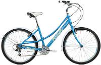 Велосипед Forward Azure 26 1.0 2017 / RBKW78667002 (17, синий матовый) -