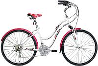 Велосипед Forward Evia 26 2.0 2017 / RBKW74N6Q00 (16, белый) -