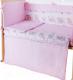 Простыня Баю-Бай Мечта ПР12-М1 (розовый) -