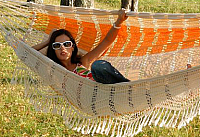 Гамак Tropical Paradise (оранжевый) -